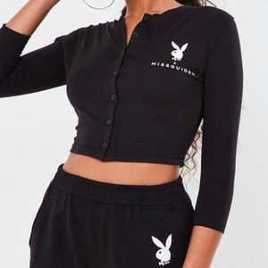 Misguided playboy top